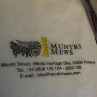 Photo taken at Muntri Mews by keeling c. on 11/23/2012