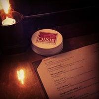 Photo taken at Dixie Restaurant Bar & Lounge by Bryan M. on 1/28/2013