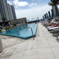 Photo taken at Epic Rooftop Pool by Taru M. on 7/22/2013