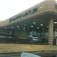 Photo taken at Meade Lexus of Lakeside by Chris M. on 10/19/2011