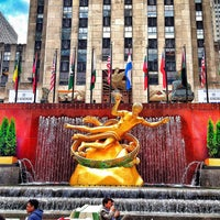 Photo taken at Rockefeller Center by Matt on 5/9/2013