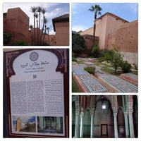 Photo taken at Saadian Tombs by Clement C. on 10/27/2013