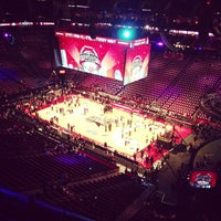 Photo taken at Toyota Center by Stephen B. on 2/17/2013