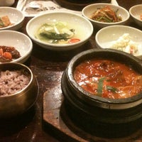 Photo taken at 토담골 by Paul I. on 11/9/2012