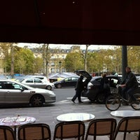 Photo taken at Café République by Jovin S. on 11/9/2013