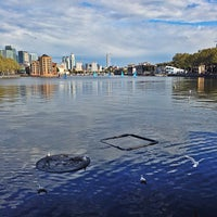 Photo taken at Surrey Docks Watersports Centre by Shayan S. on 10/11/2014