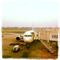 Photo taken at Gate C20 by Naoki T. on 10/15/2012