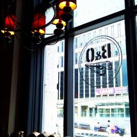 Photo taken at B&O American Brasserie by Sue C. on 7/3/2013