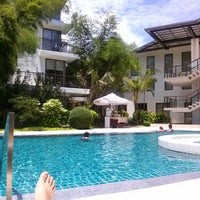 Photo taken at Discovery Shores Boracay by Kobi K. on 7/10/2013