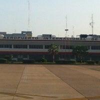 Photo taken at Aeropuerto Internacional General Rafael Buelna (MZT) by Cesar R. on 8/13/2013