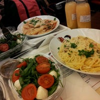 Photo taken at Pasta Deli by Exey P. on 2/13/2013