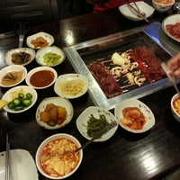 Photo taken at Chang Jing Korean BBQ by Vu N. on 9/14/2012