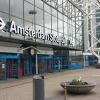 Photo taken at Amsterdam Sloterdijk Station by Ger A. on 5/10/2013