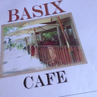 Photo taken at Basix Cafe by Carlos M. on 7/27/2013