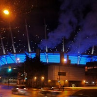 Photo taken at BC Place by Mk P. on 12/28/2012