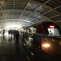Photo taken at Subway T3 Terminal Station by Takashi O. on 8/22/2013
