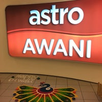 Photo taken at Astro Awani by Mediha M. on 10/25/2016