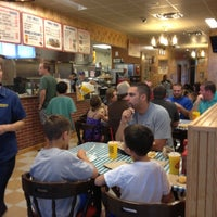 Photo taken at Dickey's Barbecue Pit by Tonya P. on 10/14/2012