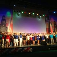 Photo taken at Дом молодежи Санкт-Петербурга by KsenyaKrislamova on 6/1/2013