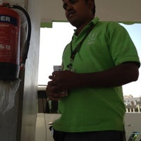 Photo taken at Oula Gas Station | أولـى by Mona L. on 11/4/2012