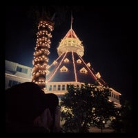 Photo taken at Hotel del Coronado by emily joy on 12/8/2012