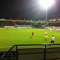 Photo taken at Mandemakers Stadion by Roy R. on 12/8/2012