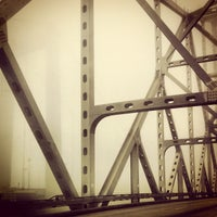 Photo taken at Carquinez Bridge by Rick B. on 10/14/2012