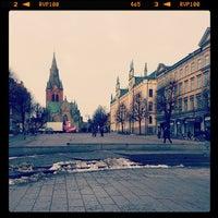 Photo taken at Stortorget by Niklas B. on 2/11/2014