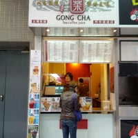 Photo taken at Gong Cha 貢茶 by Andrew C. on 1/12/2013