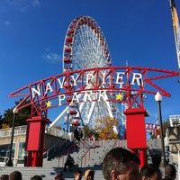Photo taken at Navy Pier by Mon F. on 10/7/2012