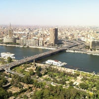Photo taken at Cairo Tower by Shaimaa G. on 6/21/2013