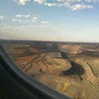 Photo taken at Kalgoorlie-Boulder Airport (KGI) by Daryl K. on 10/31/2013