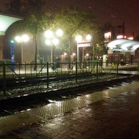 Photo taken at Downtown Plano Station (DART Rail) by Daniel T. on 11/6/2013