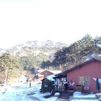 Photo taken at 커피커퍼 왕산 커피농장 by Peter C. on 12/30/2012