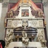 Photo taken at Basilica of Santa Croce by Olya on 3/14/2013