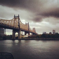 Photo taken at Ed Koch Queensboro Bridge by Ethan F. on 10/30/2012