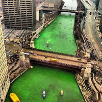 Photo taken at Chicago Riverwalk by Vinny L. on 3/16/2013