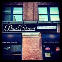 Photo taken at Pearl Street Pizzeria & Pub by Greg F. on 9/22/2013