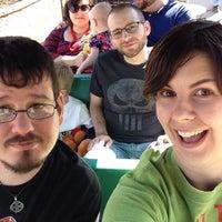 Photo taken at Santa Fe Mini-Train by Autumn E. on 3/22/2015