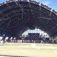 Photo taken at Coachella Sahara Tent by Chris W. on 4/13/2013