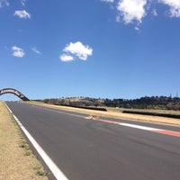Photo taken at Mount Panorama by Simon B. on 11/13/2012