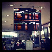 Photo taken at Gare Centrale by Jeromin R. on 5/3/2013