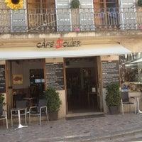 Photo taken at Cafè Sóller by Dani on 4/14/2013