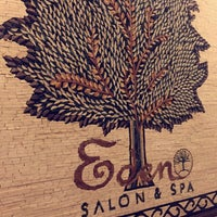 Photo taken at Eden Salon & Spa by Fajer M. on 8/17/2015