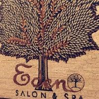Photo taken at Eden Salon & Spa by Fajer M. on 4/27/2016
