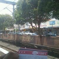 Photo taken at Flemington Station by Kira R. on 11/23/2013
