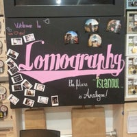 Photo taken at Lomography Embassy Store Istanbul by Aysegul A. on 1/8/2013