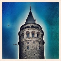 Photo taken at Galata Tower by Burçin D. on 7/2/2013