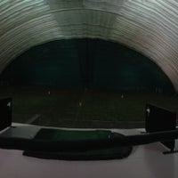 Photo taken at Robert Morris University Island Sports Center - Golf Dome by JR S. on 12/5/2012
