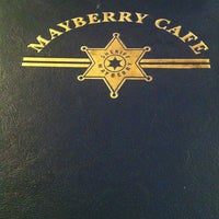Photo taken at Mayberry Cafe by Cheryl H. on 5/3/2013